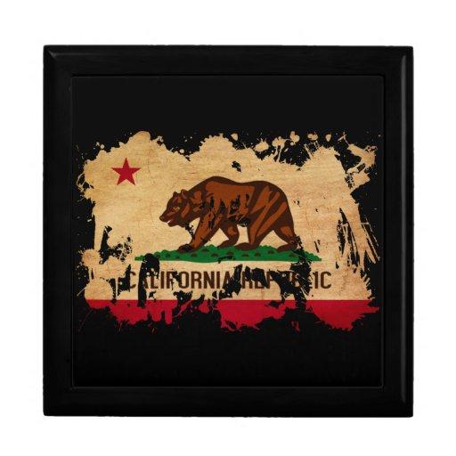Bandera de California Cajas De Joyas