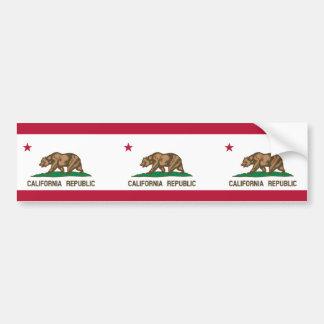 Bandera de California Pegatina De Parachoque