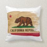 Bandera de California Cojines