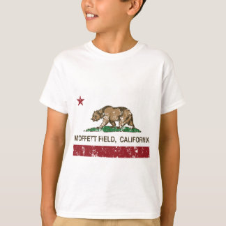 Bandera de California del campo de Moffett Remera