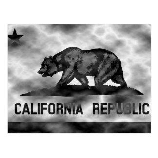 Bandera de California del plasma Tarjeta Postal