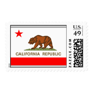 Bandera de California Franqueo