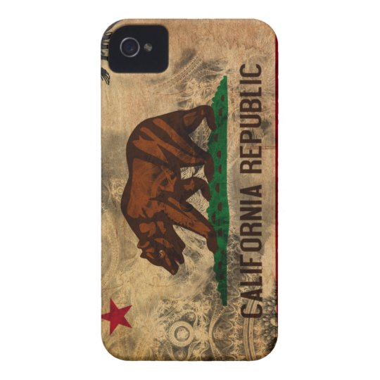 Bandera de California Funda Para iPhone 4 De Case-Mate
