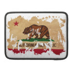 Bandera de California Funda Para Macbook Pro