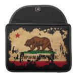 Bandera de California Fundas Macbook Pro