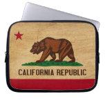 Bandera de California Fundas Ordendadores
