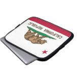Bandera de California Fundas Portátiles