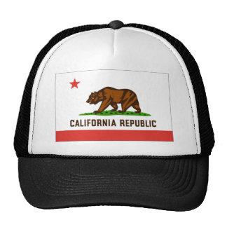 Bandera de California Gorro De Camionero