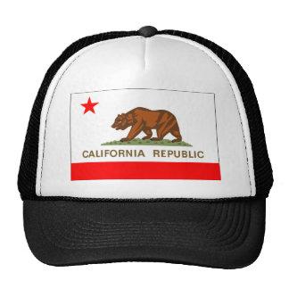 Bandera de California Gorras