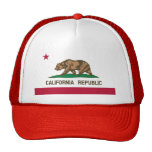 Bandera de California Gorro