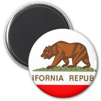 Bandera de California Iman