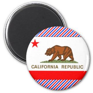Bandera de California Imanes
