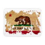 Bandera de California Imán