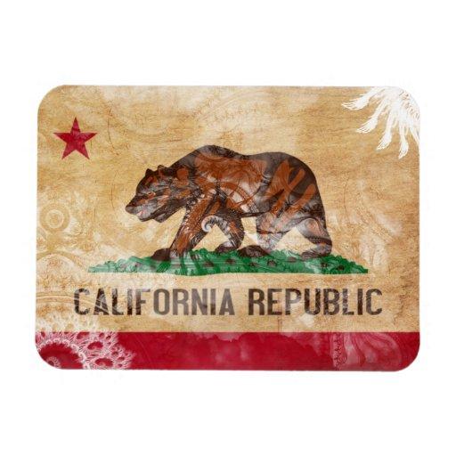 Bandera de California Imanes Flexibles