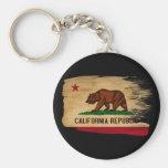 Bandera de California Llavero Personalizado