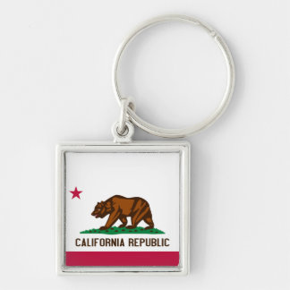 Bandera de California Llaveros Personalizados