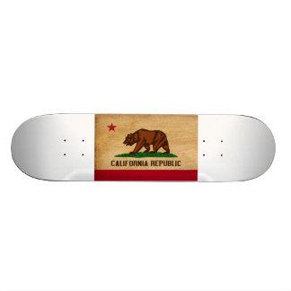 Bandera de California Patineta Personalizada