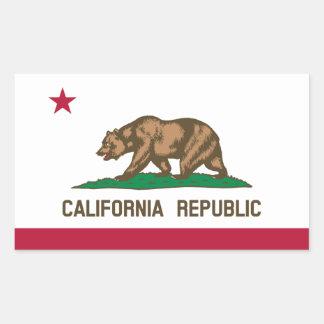 Bandera de California Rectangular Altavoces