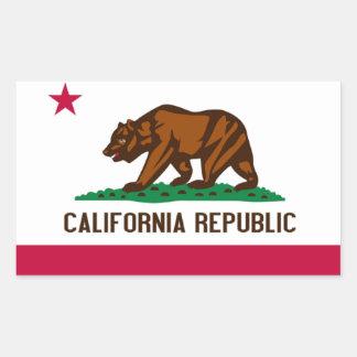 Bandera de California Pegatinas