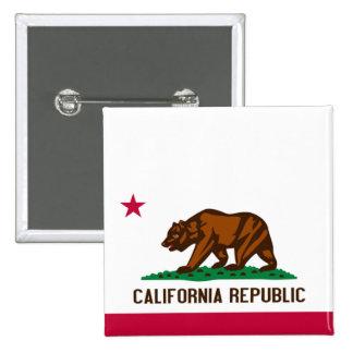 Bandera de California Pin