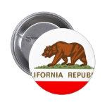 Bandera de California Pins