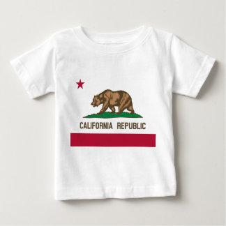 Bandera de California Playera De Bebé