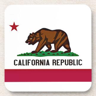 Bandera de California Posavasos
