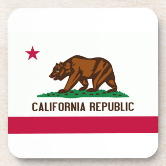 Bandera de California Posavasos De Bebidas