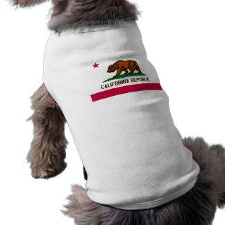 Bandera de California Prenda Mascota