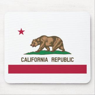 Bandera de California Tapetes De Raton