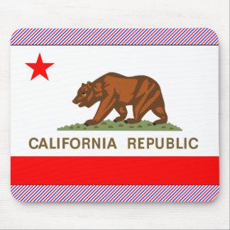 Bandera de California Alfombrilla De Ratón