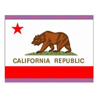 Bandera de California Postales