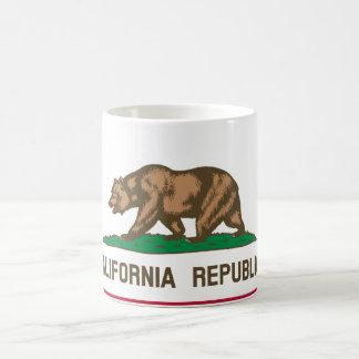 Bandera de California Taza De Café