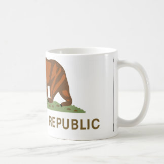Bandera de California Tazas De Café