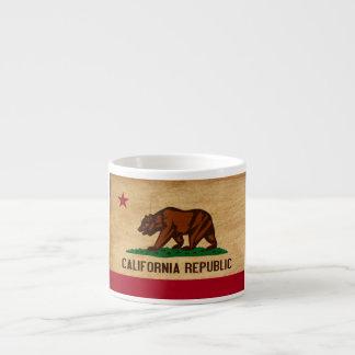 Bandera de California Taza Espresso