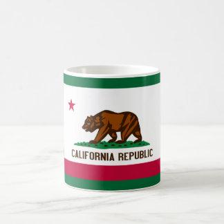 Bandera de California Tazas