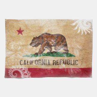 Bandera de California Toallas