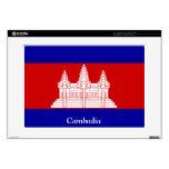 Bandera de Camboya 38,1cm Portátil Calcomanía