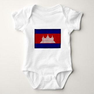 Bandera de Camboya Body Para Bebé