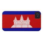 Bandera de Camboya; Camboyano Case-Mate iPhone 4 Funda