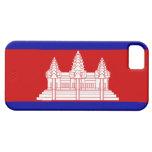 Bandera de Camboya; Camboyano iPhone 5 Case-Mate Funda