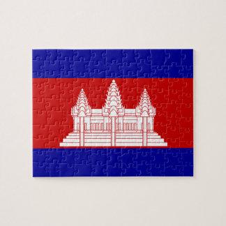 Bandera de Camboya; Camboyano Puzzle