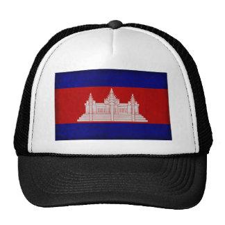 Bandera de Camboya Gorras