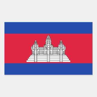 Bandera de Camboya Rectangular Altavoces