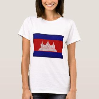 Bandera de Camboya Playera