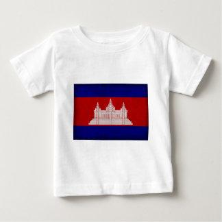 Bandera de Camboya Playera De Bebé