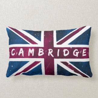 Bandera de Cambridge - de Reino Unido Union Jack Cojines