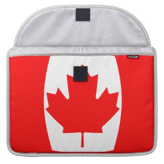 Bandera de Canadá 15 pulgadas Funda Macbook Pro