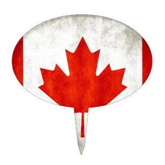 Bandera de Canadá Figuras De Tarta