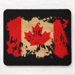 Bandera de Canadá Alfombrillas De Raton